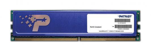 Оперативная память 4Gb PC3-10600 1333MHz DDR3 DIMM Patriot PSD34G13332H