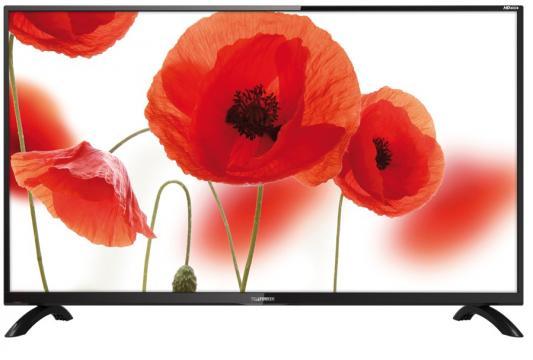 Телевизор Telefunken TF-LED32S43T2 черный телевизор telefunken tf led32s65t2 черный