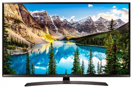 Телевизор LG 55UJ634V черный