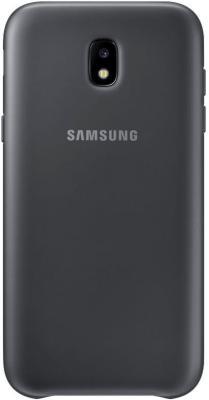 Чехол Samsung EF-PJ530CBEGRU для Samsung Galaxy J5 2017 Dual Layer Cover черный чехол samsung ef pj530cpegru для samsung galaxy j5 2017 dual layer cover розовый