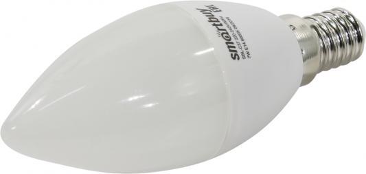 Лампа светодиодная свеча Smart Buy SBL-C37-07-60K-E14 E14 7W 6000K