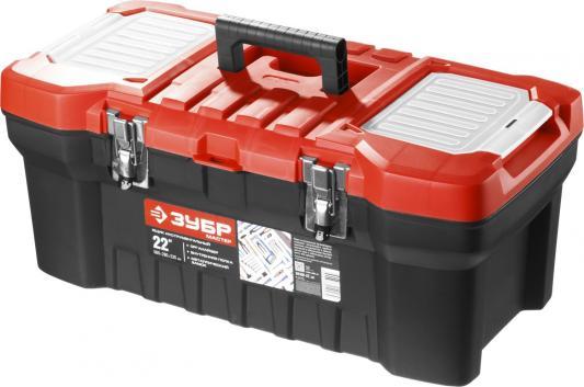 Ящик для инструмента Зубр Мастер 22 пластмассовый 38180-22_z01 уровень зубр 3459 мастер торпедо пластмассовый магнитный 4 ампулы 230мм