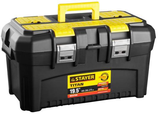 Ящик для инструмента Stayer Master 19 пластиковый 38016-19 сумка для инструмента stayer master 38550