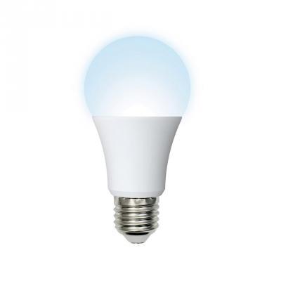 Лампа светодиодная (UL-00001065) E27 7W 4000K шар матовый LED-A60-7W/NW/E27/FR/O светодиодная лампа эра f led a60 e27 7w 220v белый свет