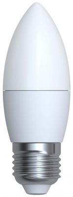 Лампа светодиодная (UL-00001068) E27 6W 6500K свеча матовая LED-C37-6W/DW/E27/FR/O
