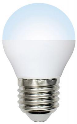 Лампа светодиодная (UL-00001069) E14 6W 6000K свеча матовая LED-C37-6W/DW/E14/FR/O uniel лампа светодиодная 07889 e14 6w 4500k свеча матовая led c37 6w nw e14 fr alp01wh