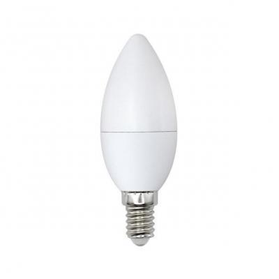 Лампа светодиодная (UL-00001771) E14 8W 6500K свеча матовая LED-C37-8W/DW/E14/FR/O лампа светодиодная ul 00000767 e14 7w 4500k свеча матовая led c37 7w nw e14 fr plp01wh