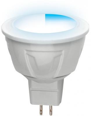 Лента светодиодная полусфера Uniel UL-00000695 GU5.3 5W 4500K LED-JCDR-5W/NW/GU5.3/FR/DIM PLP01WH