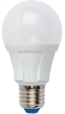 Лампа светодиодная (UL-00001523) E27 8W 4000K груша матовая LED-A60 8W/NW/E27/FR PLP01WH лампа светодиодная uniel led a60 11w ww e27 fr dim plp01wh