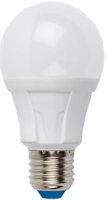 Лампа светодиодная (UL-00001524) E27 10W 3000K груша матовая LED-A60 10W/WW/E27/FR PLP01WH лампа светодиодная uniel led a60 11w ww e27 fr dim plp01wh