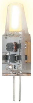 Лампа светодиодная колба Uniel UL-00000185 G4 2W 3000K LED-JC-220/2W/WW/G4/CL SIZ05TR led светильник philips led g4 12v 1 2w g4