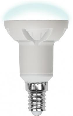 Лампа светодиодная рефлекторная Uniel UL-00000938 E14 6W 4500K LED-R50-6W/NW/E14/FR PLP01WH