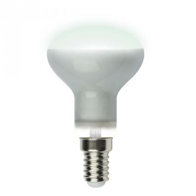 Лампа светодиодная (UL-00001492) E14 6W 4000K рефлектор матовый LED-R50-6W/NW/E14/FR PLS02WH лампа светодиодная маяк c30 e14 6w 4000k