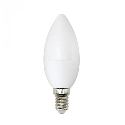 Лампа светодиодная (UL-00001570) E14 6W 4000K свеча матовая LED-C37-6W/WW+NW/E14/FR PLB01WH лампа светодиодная маяк c30 e14 6w 4000k