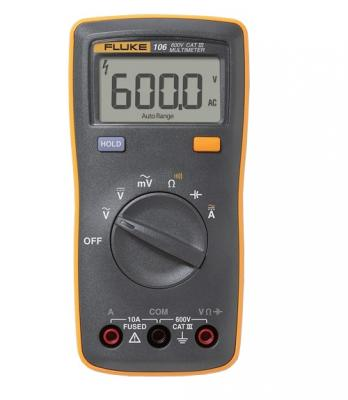 Мультиметр Fluke FLUKE-106 ERTA 4367927 мультиметр fluke t5 1000