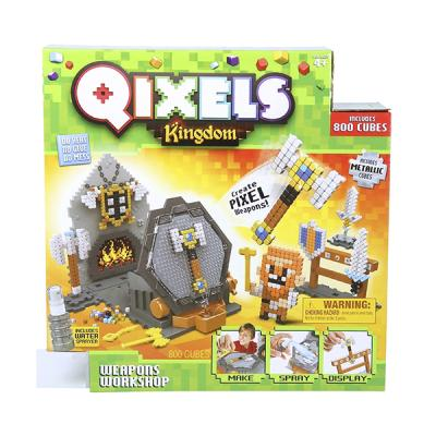 """Набор для творчества Qixels Королевство """"Оружейная мастерская"""" от 4 лет 87027 qixels мозаика королевство гнев дракона"""