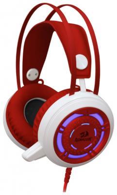 Наушники Defender Sapphire красный белый 64206 defender trendy 702 white blue наушники