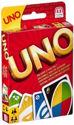 Настольная игра MATTEL логическая UNO mattel карточная игра уно monster high mattel games