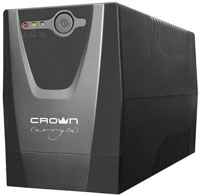 ИБП Crown CMU-500XIEC crown micro cmu 1500xiec usb 1500va 900w ибп