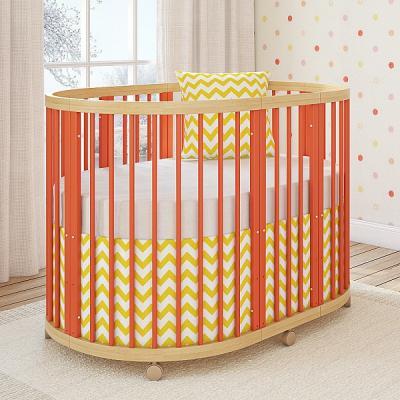 Кроватка овальная 120х90см Giovanni Shapito TreeO (coral)