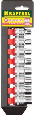 Набор торцовых головок Kraftool Expert Qualitat 8шт 27863-H8 от 123.ru
