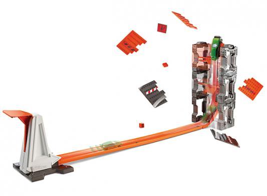 Игровой набор Hot wheels конструктор трасс: взрывной набор игровой набор hot wheels базовые трассы в ассортименте