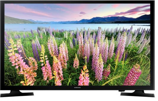 Телевизор Samsung UE49J5300AUX черный телевизор samsung ue28j4100ak
