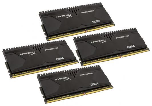 Оперативная память 64Gb (4x16Gb) PC4-19200 2400MHz DDR4 DIMM CL12 Kingston HX424C12PB3K4/64