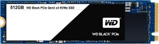 Твердотельный накопитель SSD M.2 512Gb Western Digital Black Read 2050Mb/s Write 800Mb/s PCI-E WDS512G1X0C жесткий диск пк western digital wds512g1x0c 512gb wds512g1x0c