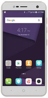 Смартфон ZTE Blade V8 mini золотистый 5 32 Гб LTE Wi-Fi GPS 3G BLADEV8MINIGOLD смартфон sony xperia xa1 dual черный 5 32 гб nfc lte wi fi gps 3g g3112blk