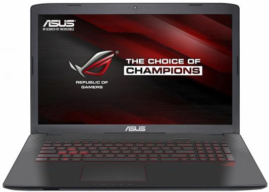ASUS ROG GL752VL-T4027T Intel Core i7 6700HQ/8GB/1TB HDD/17.3 FHD AG/NV GTX965 2GB GDDR5/Camera/Wi-Fi/Windows 10 /Illuminated KB/3.5Kg 90NB0BX2-M00310 ноутбук asus x553sa xx137d 15 6 intel celeron n3050 1 6ghz 2gb 500tb hdd 90nb0ac1 m05820