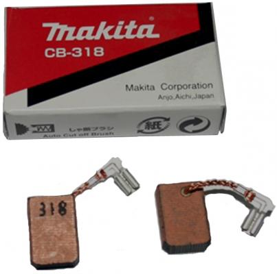 Щетка Makita CB-318 графитовая 191978-9 запасная часть щетка графитовая makita cb 132 191972 1