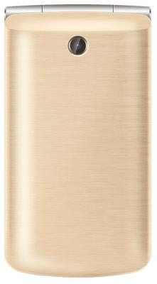 Мобильный телефон Texet TM-404 золотистый 2.8 мобильный телефон texet tm 404 red