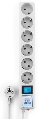 Удлинитель Power Cube SPL(5+1)-16B-P-1,9M белый 6 розеток 1.9 м dayan 5 zhanchi 3x3x3 brain teaser magic iq cube