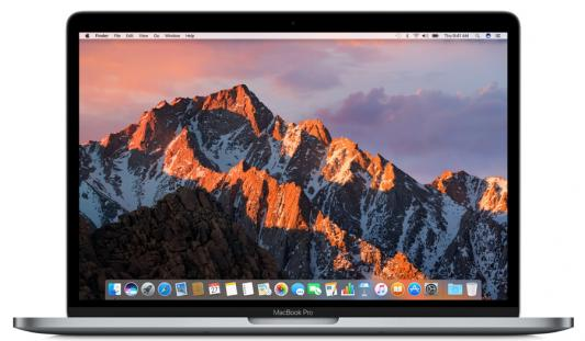 "Ноутбук Apple MacBook Pro 13.3"" 2560x1600 Intel Core i5 128 Gb 8Gb Intel Iris Plus Graphics 640 серый macOS MPXQ2RU/A"