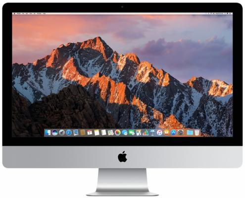 Моноблок 27 Apple iMac 5120 x 2880 Intel Core i5-7600K 8Gb 2 Tb AMD Radeon Pro 580 8192 Мб macOS серебристый MNED2RU/A компьютер моноблок apple imac 2017 retina 5k mned2ru a