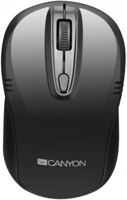 Мышь беспроводная Canyon CNE-CMSW02B чёрный USB