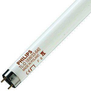 Лампа люминисцентная колба Philips TL-D G13 G13 18W 4000K линейная люминесцентная лампа philips tld 18w 865 840 830 t8