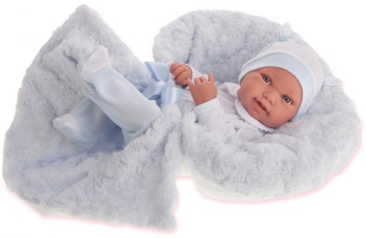 """Кукла-младенец Munecas Antonio Juan """"Эдуардо"""" 42 см в голубом 5005B"""