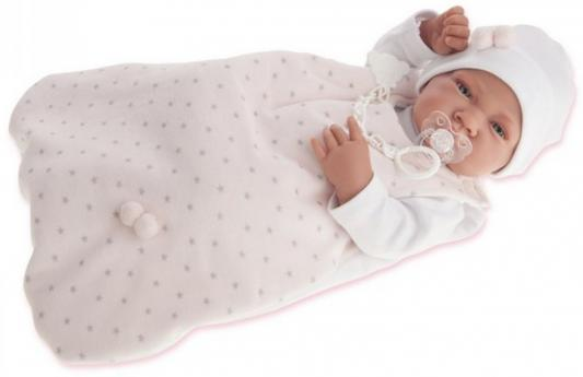 "Кукла-младенец Munecas Antonio Juan ""Кармела в розовом"" 42 см"
