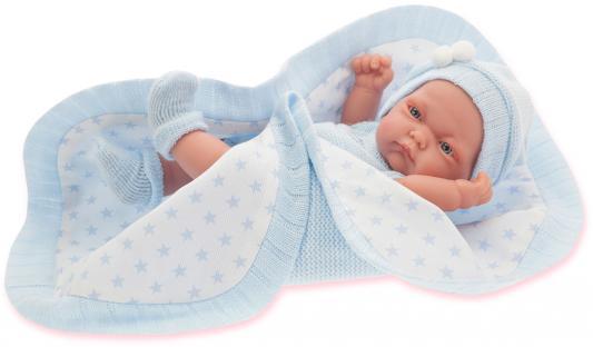 Кукла-младенец Munecas Antonio Juan Карл 26 см в голубом 4069B