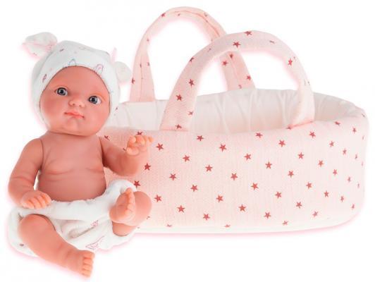 Кукла Munecas Antonio Juan Пепита 21 см в белой корзине 3901P 41 лилию в корзине