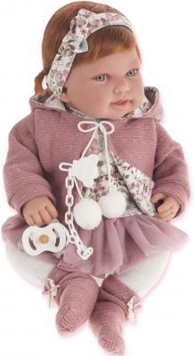 Кукла Munecas Antonio Juan Саманта в розовом 40 см 3370P munecas antonio juan кукла эвита в розовом 38 см munecas antonio juan