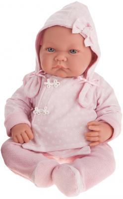Кукла Munecas Antonio Juan Алисия 40 см в розовом 3368P munecas antonio juan кукла лучия в розовом 37 см munecas antonio juan