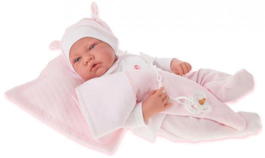 Кукла Munecas Antonio Juan Жоанна в розовом 40 см со звуком 3366P кукла munecas antonio juan белла в шляпке блондинка 45 см 2808p