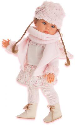 Кукла Munecas Antonio Juan Белла 45 см с шарфиком 2811 кукла antonio juan белла pink 1669p
