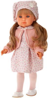 """Кукла Munecas Antonio Juan """"Амалия"""" 45 см в розовом 2810P"""