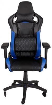 Кресло компьютерное игровое Corsair Gaming T1 RACE черно-синий CF-9010004-WW игровое кресло corsair gaming t1 race черно синий cf 9010004 ww