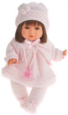 Кукла Munecas Antonio Juan Кристи в светло-розовом 30 см плачущая 1339P кукла кристи в красном juan antonio 30 см 1337r