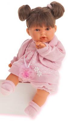 Кукла Munecas Antonio Juan Брюнетка Лана 27 см плачущая 1112Br кукла munecas antonio juan белла плачущая